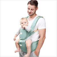Wholesale Baby Hip Carriers - Baby Carrier Waist Stool Walkers Newborn Sling Wrap Hold Waist Belt Backpack Kids Breathable Hipseat Belt Infant Hip Seat Suspenders B3975
