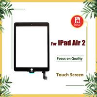 12 pantalla táctil al por mayor-Pantalla de reemplazo para ipad 6 para iPad Air 2 Air2 Pantalla táctil Digitalizador Cristal táctil Panel de vidrio exterior delantero Reemplazo para IPAD 6 partes