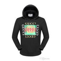 Wholesale tiger 3d sweatshirt men - 2018 New Arrival top famous luxury G tiger 3D Crown designer shark hoodies and sweatshirt tracksuits for men women slim fit for mans