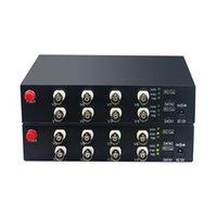 ingrosso hd ricevitore trasmettitore video-AHD / CVI / TVI / Analog tutto in uno 1080P HD fibra ottica video trasmettitore e ricevitore Convertitore di fibra video HD