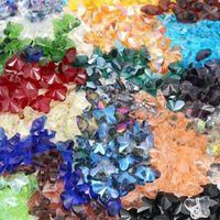 ingrosso spacer della farfalla-Commercio all'ingrosso 100 pz Colorful Farfalla di Perle di Cristallo 11x14mm Perle di Vetro Branelli Allentati del Distanziatore Gioielli FAI DA TE Fare Austria Perle di Cristallo