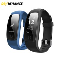 Wholesale id107 smart bracelet online - 2018 Orginal Smart ID107Plus HR Heart Rate Bracelet Monitor ID107 Plus Wristband Health Fitness Tracking For Android iOS Smart Watch