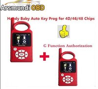 Wholesale bmw car chip programmer resale online - 2019 Russia Portuguese Version V8 Handy Baby G Funtion Car Key Prog Auto Key Programmer for D Chips G Chip Copy Function