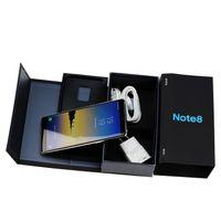 Wholesale newest goophone - Newest 6.3inch Goophone note8 phone note 8 MTK6580 64bit Quad Core 1GB RAM 8GB ROM Show 4GB+64GB 4G LTE 8MP camera GPS WIFI smartphone