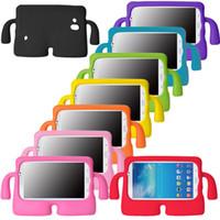 mini caso do ipad para miúdos venda por atacado-Para ipad 2/3/4/5 mini ar crianças à prova de choque tablet eva capa case stand case protetora