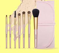 Wholesale shadow blush lipstick resale online - NEW PRODUCT UKISS MAKEUP BRUSHES SET Lipstick blush eye shadow eyelash eyebrow