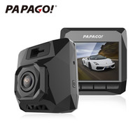 Wholesale d1 dvr - Wholesale-PAPAGO D1 Car DVR PPG 8030 Dual Core Dash Cam 1440P 2.0 inch 145 Degree Angle Car-styling Dvrs DashCam Video Recorder Camcorder