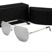 en iyi güneş gözlüğü markaları toptan satış-Yüksek Kalite 0819 Güneş gözlükleri Kadın Erkek Güneş Gözlüğü Speckle Klasik Marka Tasarımcısı Plaj Tatil Güneş Gözlüğü UV400 Güneş Gözlüğü En Iyi Fiyat