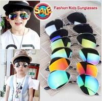 aefe3022794 New 2017 Design Children Girls Boys Sunglasses Kids Beach Supplies UV  Protective Eyewear Baby Fashion Sunshades Glasses D008