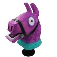 Wholesale silicone latex masks for sale - New Fortnite Troll Stash Llama Mask Cosplay Alpaca Rainbow Horse Llama Latex Helmet Halloween Party Props Party Masks px KK