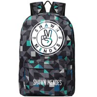 Wholesale illuminated letters - Shawn Mendes backpack Illuminate singer school bag Pop star daypack Quality schoolbag Outdoor rucksack Sport day pack