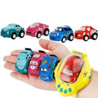 relojes automáticos al por mayor-Coches del control del gesto del coche de la detección de la gravedad 4CH RC con el regalo teledirigido portátil del reloj del control para los niños 52hk W