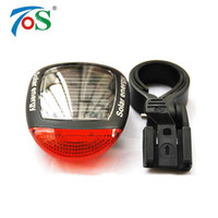 Wholesale Bike Energy - Bike Solar Energy Light Rechargeable LED Seatpost Lamp Bicycle Accessories Bike Back Rear Tail Light Cycling Bicycle Reflector