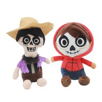 Wholesale statues for home - HOT Cartoon Movie COCO Plush Toy Dolls Gift For Kids Party Favour Children Movie Figure Home Decoration NNA420