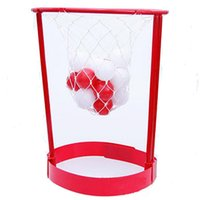 juguetes de baloncesto al por mayor-Niños Toy Head Basketball Hoop Juego Circle Shot Plastic Basket Padres - niños juguetes interactivos Hat juegos al aire libre