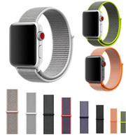 Wholesale Like Watches - Epacket UP 1PCS Sport Woven Nylon Loop Strap for apple watch Band Wrist Braclet Belt Fabric-like Nylon Band for iwatch Series 1 2 3