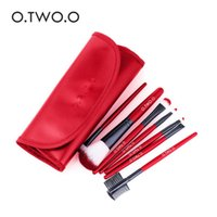 Wholesale makeup sets for beginners resale online - O TWO O Makeup Brushes Set Soft Synthetic Hair Blush Eyeshadow Lips Make Up Brush For Beginner Brush sets DHL