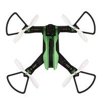 flip-taste alarm großhandel-H825G 5,8 GHz VR Racer FPV Drohne mit Kamera 55 km / h Hochgeschwindigkeitswindwiderstand Doppelalarm Headless One Key Return 3D Flip DRON