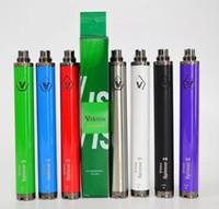 Wholesale oil spinner resale online - 1650mah Vision Spinner battery thread Battery Vision Spinner EGO battery for oil cartridges e cigarettes vape