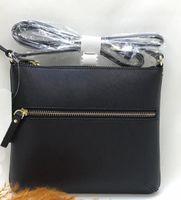 Wholesale Double Flap Purse - brand designer shoulder bags crossbody bag double zippers pu purses for women