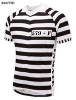 ingrosso solo uomini vestiti-Maglietta da ciclismo a manica corta Uomo Convict Road 2018 Mtb Cycle Bicicleta Bike Only Shirt Cycling Clothing