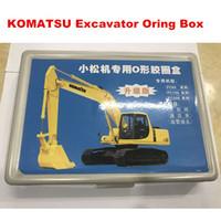 Wholesale komatsu resale online - Komatsu Excavator Oring Box repair seal excavator parts digging machine Oring good quality