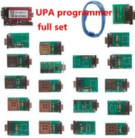 Wholesale vw programmers ecu chips for sale - Group buy 2018 UPA USB V1 Main unit ECU chip Tuning Upa USB Programmer with Full Adapters UPA USB Programm