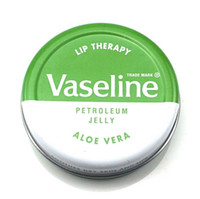 Wholesale lip therapy online - hot sale Makeup brand Vaseline Lip therapy cocoa butter for soft glowing rosy lips Hydrating Petroleum jelly moisturizing Lip balm lip crea