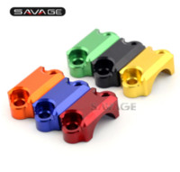 Wholesale Brake Master Cylinders - For Aprilia RSV4 RSV4R RSV 4 4R 2009-2015 Motorcycle Brake Master Cylinder Handlebar Bar Clamp Cover