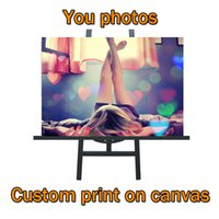 Wholesale friends walls - Custom Print on Canvas - Modern Fashion Custom Wall Art Decor Canvas Painting Print of Your Family, Friends, Baby or Favorite photos picture