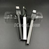 vape kalem pil otomatik toptan satış-510 Konu Pil Otomatik Ön Isıtma Piller Düğmesiz USB Şarj Kalın Yağ Özelleştirilmiş Tedarik için 350 mah Vape Kalem Pil