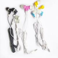 kulaklık kulak tıkaçları toptan satış-Kulaklık 3.5mm Fiş Kulak MP3 MP4 telefon kulaklıklar Için ucuz kulaklık kulaklık gürültü Iptal MP4 telefon kulaklık