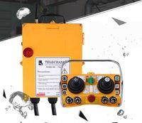 controle remoto para o guindaste venda por atacado-Dois joystick 5 Controles de Velocidade Sobrecarregamento de Grua de Sobrecarga Crane F24-60 Alta qualidade