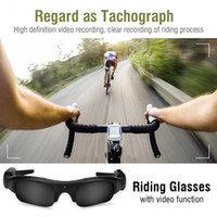 Wholesale Usb Camera Outdoor - Outdoor Sports 1080P HD Sunglasses Camera USB Rechargeable Sunglasses Mini Camera Video Camcorder Riding