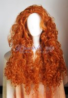 Wholesale brave cosplay for sale - NEWFashion Pixar Animated movie of Brave MERIDA cosplay wig gt gt New High Quality Fashion Picture wig