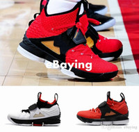 new product 96201 844a5 2018 New King 15 J 15s Red Diamond Rasen AZG Zoom Generation Herren Basketball  Schuhe Schwarz Weiß Alternative Edition Turnschuhe Größe US 7-12