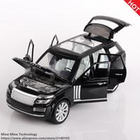 ücretsiz oyuncak diecast otomobiller toptan satış-Çift Atlar 1:24 Ücretsiz Kargo luhu Alaşım Diecast Araç Modeli Geri Çekin metal Araba Elektronik Arabalar Oyuncaklar Çocuk Çocuk Oyuncakları