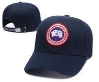 kadınlar için rahat şapka toptan satış-Moda marka Kanada Beyzbol Şapkası Erkek Kadın Açık klasik Tasarımcı Spor Beyzbol Kapaklar Hip Hop kemik Snapback Serin Şapkalar Yeni Rahat Şapka