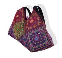 ethnisch gestickte handtaschen großhandel-Neue nationale trend stickerei reis mehlklöße umhängetasche tote handgemachte gestickte ethnische eigenschaften frauen große handtaschen