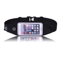 многофункциональный наружный мешок талии оптовых-Outdoor Portable Camping Hiking Travel Multi-functional Convenience Package Waist Bag Touch Screen Pockets