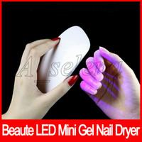 светодиодные фары для лица оптовых-Сушилка для ногтей гель лак для ногтей мощный светодиодный УФ-лампа для ногтей свет ногтей Уход за ногтями инструменты для лица быстро сухой