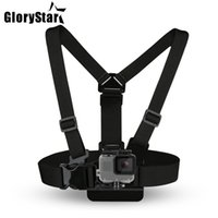 4k gopro großhandel-Brustgurt für Gopro Hero 5 4 Xiaomi yi 4K Action Kamera Brustgurt für Go Pro SJCAM SJ4000 Sportkamera fix dji osmo