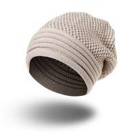 casquettes m42 achat en gros de-Chapeaux pour femmes hommes Bonnet tricoté Skullies pour les filles Femmes Hommes Couples Stocking Chapeaux Printemps Automne Hiver Bonnet Femme