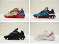 Wholesale arts elements - With Box Top Quality UNDERCOVER x Upcoming React Element 87 Pack Sneakers Men Women Running Shoes Training Shoes
