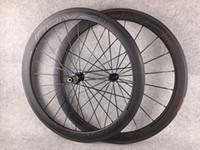 12 rodas de bicicleta venda por atacado-Roval bob 50mm preto Tubular rodas de bicicleta de carbono Clincher ud rodado fosco 271 hubs rodas de carbono rodados de estrada de carbono