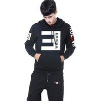nuevas sudaderas estampadas eminem al por mayor-New Autumn Eminem Hoodies de impresión Hombres Eminem Anti-E Hip Hop Hombres y Mujeres Abrigos Hoodies Sudadera