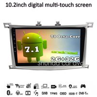 """Wholesale rds transmitter - SHUNDA HD 9"""" Android 7.1 T8 Car DVD player for Toyota Land Cruiser 100 LC100 2003-2007 With 3G 4G WIFI GPS Radio BT Navi RDS"""
