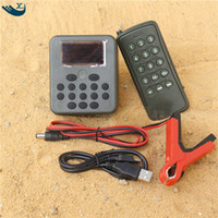 Wholesale mp3 hunting decoy player resale online - Outdoor Hunting Decoy Bird Caller Mp3 Player W Loudspeaker Amplifier Bird Sound Hunting Bird Sound With Remote Control