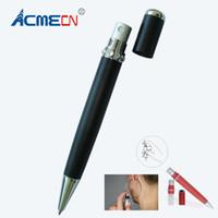 Wholesale pen perfumes resale online - Fashion Perfume Pen Black White Unique Design Ball Pen with Atomizer ml glass bottle Perfume Capacity Fragrance Accessories