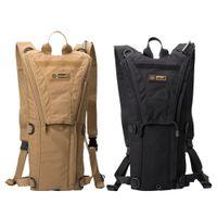 Wholesale black water gear - Multi-function Tactical Bags Hiking Camping Water pack TPU 1000D CORDURA waterproof fabric Sponge Liner Hydration Gear 2.5L Water Bladders